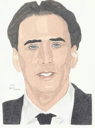 Nicolas Cage by jmitch